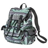 Mossimo Supply Co. Print Backpack - Gray/Teal
