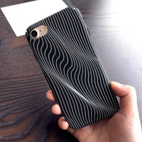 Creative Twisted Lines Iphone 7 7 Plus & 6 6s Plus Cover Case
