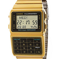 DBC611G-1DCasio Gold & Black Digital Watch