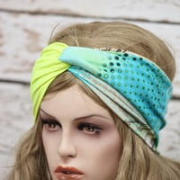 Turban stretchy headband yoga headband ear warmer womens head wrap girly accessories twisted headband,Cute Hair Bands,jersey headband