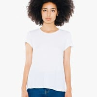 50/1 Cotton Women's Crewneck T-Shirt | American Apparel