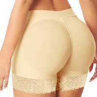 Fashion Lady Padded Seamless Butt Hip Enhancer Shaper Underwear Women Safe Panties Underpants Shapers Free Shipping