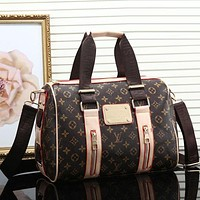 Louis Vuitton women's trendy fashion shoulder bag mobile F
