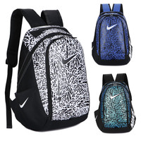 "shosouvenir : ""Nike"" Fashion Letters Sports backpack (5 color) Sapphire Light blue"