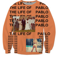 Kanye West Life Of Pablo Sweater