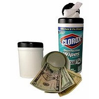 Clorox wipes Stash Can