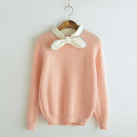 Bow hedging loose knit