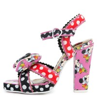 Ditty Minnie Pink Minnie Heels