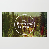 The Pretend Is Near. Rug by Nick Nelson