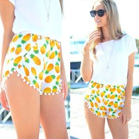 Pineapple shorts   Spoiled Rotton