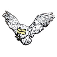 Universal Studios Wizarding World Harry Potter Enamel Hedwig Pin New with Card
