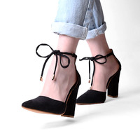 Lace Up High Heels Women's Sandals Summer Shoes Ladies Pumps Sexy