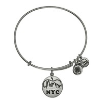 NYC Skyline Charm Bangle