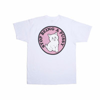 Stop Being a Pussy T-shirt