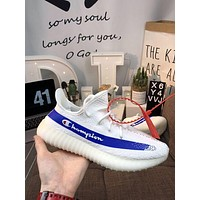 Champion X Yeezy Boost 350 V2 Shoes 36 45