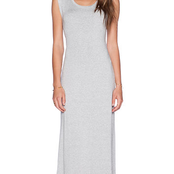 Feel the Piece Crista Maxi Dress in Gray