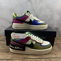 Morechoice Tuhy Nike Air Force 1 Shadow SE Cactus Flower Low Sneakers Casual Skaet Shoes CT1985-500