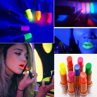 Fluorescent Lipstick Glow In The Dark