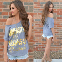 Women Gray Cosy Loose T-Shirts Summer Blouses A7