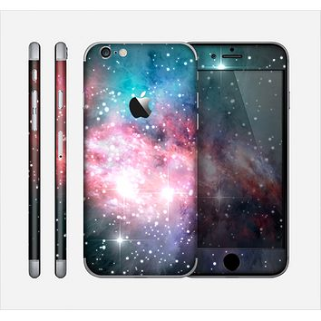 The Colorful Neon Space Nebula Skin for the Apple iPhone 6