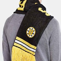 Mitchell & Ness Bruins NHL Throwback Scarf- Black One