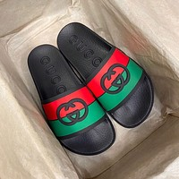 GG Summer New Men's and Women's Slippers Shoes