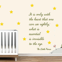 Kids-Rooms-Nursery-Wall-Decal - Little Prince Exupery decal for housewares - Wall Decals , Home WallArt Decals