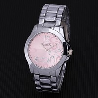 COACH New fashion couple quartz watch wristwatch