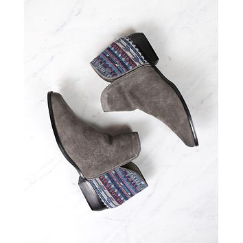 Sbicca - Circa Suede Bootie in Grey