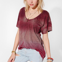 One-Of-A-Kind Dyed Stripe Studded DIY Tee