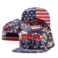 July 4th Snapback Cap