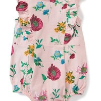 Floral Bubble Romper for Baby | Old Navy