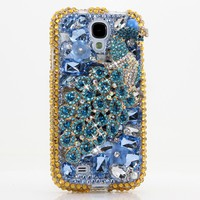 Blue and Brass Peacock Design (style 717)