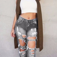 Serenity Ripped Skinny Denim