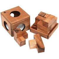 Soma Cube Wooden Puzzle - Puzzle Haven