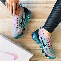 Nike AIR VAPORMAX FLYKNIT Fashion Women Breathable Air Cushion Shoes Sneakers