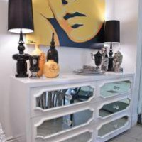 www.roomservicestore.com - White Hollywood Dresser