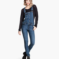 Denim Overalls - from H&M
