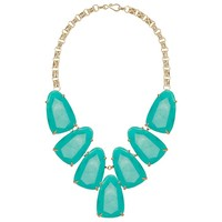 Kendra Scott Harlow Teal Necklace