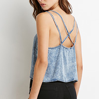 Mineral Wash Chambray Cami