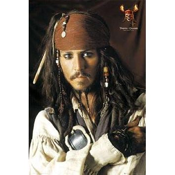 PIRATES OF THE CARIBBEAN POSTER JACK SPARROW JOHNNY DEPP
