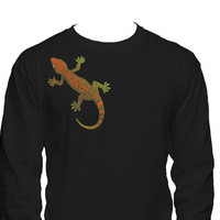 Fire Lizard Long Sleeve T-Shirt