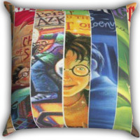 Harry Potter Cover Zippered Pillows  Covers 16x16, 18x18, 20x20 Inches
