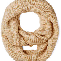 Dressed to Chill Circle Scarf in Oatmeal | Mod Retro Vintage Scarves | ModCloth.com