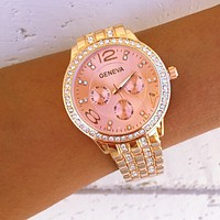 Bella Rose Gold Watch
