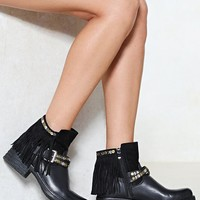 Let's Hang Out Vegan Leather Boot