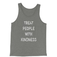 Treat People With Kindness Jersey Tank Top for Men