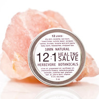 12 in 1 Herbal Salve. 100% Natural Vegan Herbal Skin Remedy.