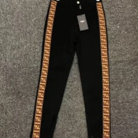 FENDI Fashionable Women Casual Vintage Pants