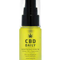 Earthly Body Cbd Daily Soothing Serum Oil Treatment - 20 Ml